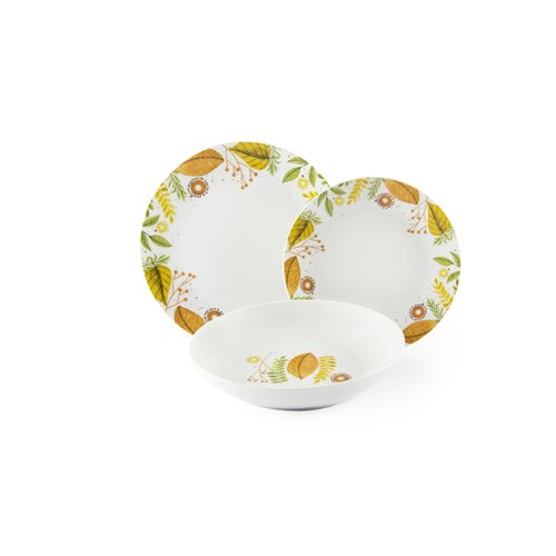 Sidmouth 18 Piece Dinnerware Set August Grove