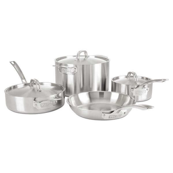 Professional 5 Ply 7-Piece Cookware Set by Viking