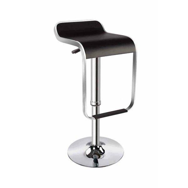 Ellie Adjustable Height Swivel Bar Stool by dCOR design