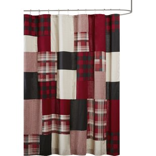 Check Prices Winter Hills 100% Cotton Shower Curtain By Woolrich