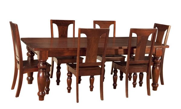Musson 7 Piece Solid Wood Dining Set by Charlton Home