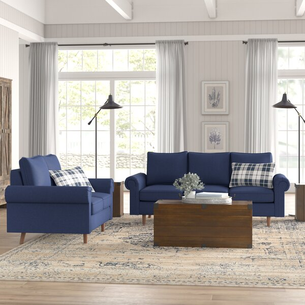 Ruthann 2 Piece Living Room Set by Gracie Oaks