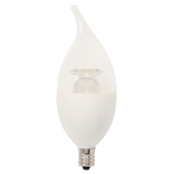 60W Equivalent E12/Candelabra LED Candle Light Bulb by Westinghouse Lighting