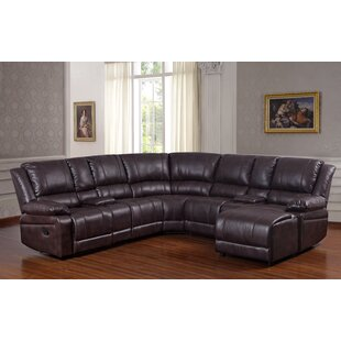 Javed Reclining Sectional Red Barrel Studio