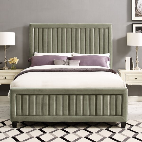 Gerke Upholstered Standard Bed by Mercer41