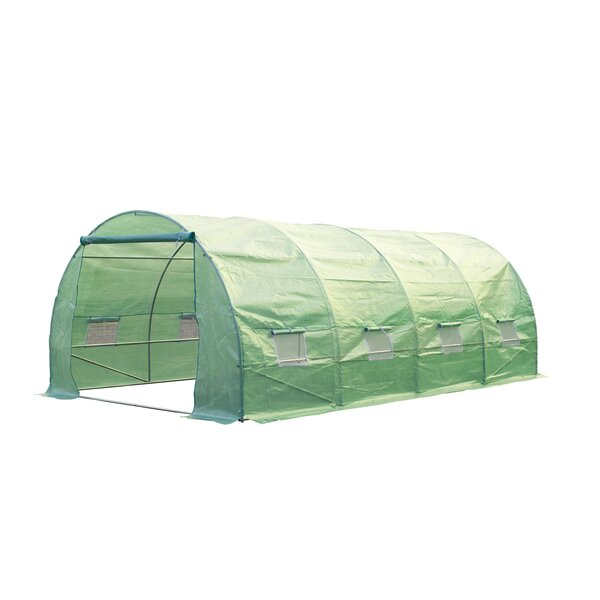 9.8 Ft. W x 19.7 Ft. D Commercial Greenhouse by Outsunny