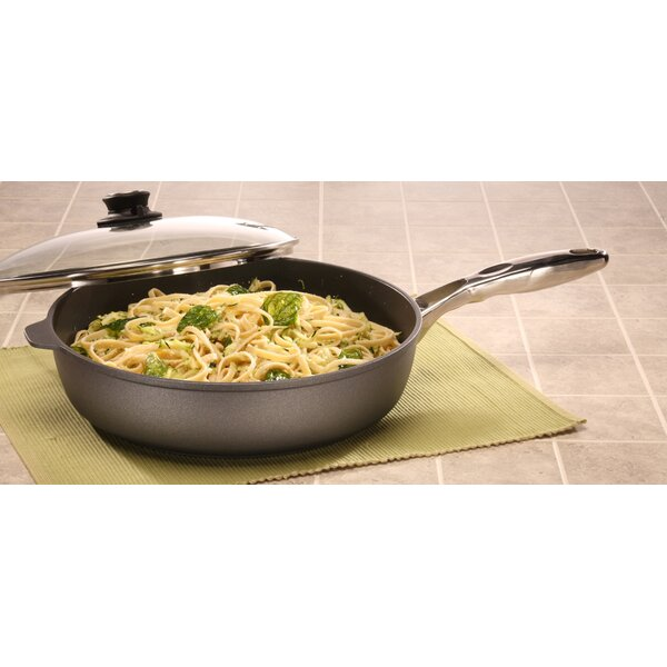 5.8-qt. Saute Pan with Handle and Lid by Swiss Diamond