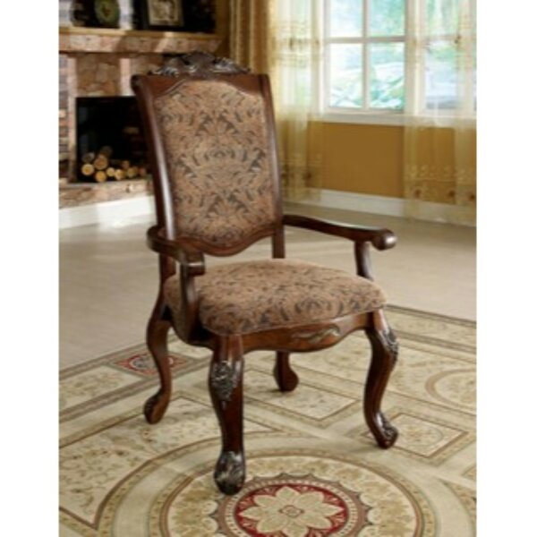 Burbank Upholstered Dining Chair (Set of 2) by Astoria Grand