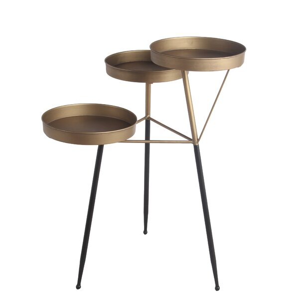Samual 3 Legs End Table By Everly Quinn