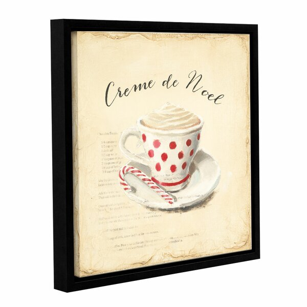 Creme De Noel Framed Painting Print on Wrapped Can