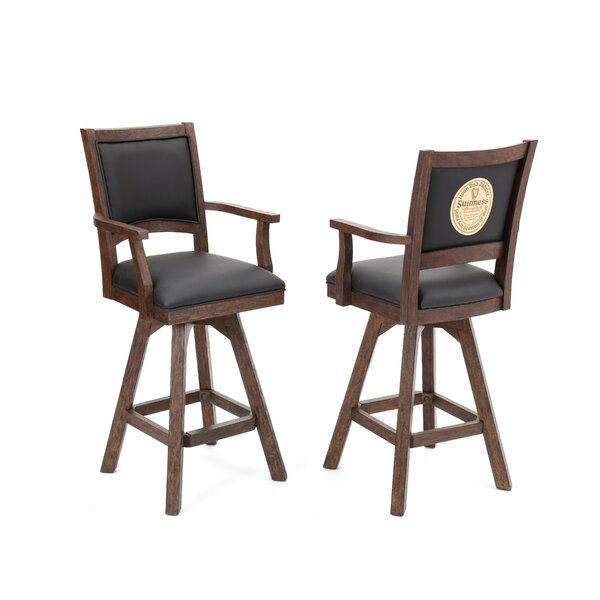 Guinness 30 Swivel Bar Stool (Set of 2) by ECI FurnitureGuinness 30 Swivel Bar Stool (Set of 2) by ECI Furniture
