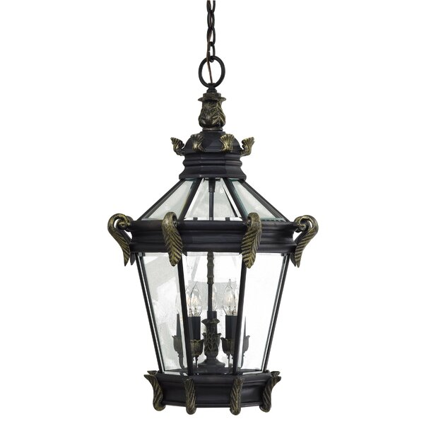 Stratford Hall 5-Light Outdoor Hanging Lantern by Great Outdoors by Minka