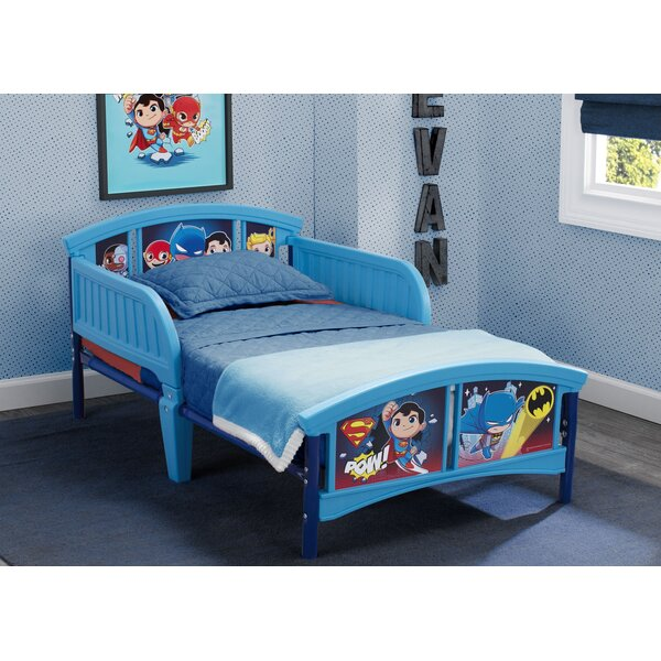 DC Super Friends Plastic Toddler Bed by Delta Children
