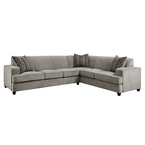 Best #1 Caswell Sleeper Sectional By Darby Home Co 2019 Sale