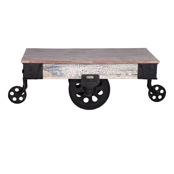 Ellingsworth Industrial Cart Coffee Table by 17 Stories