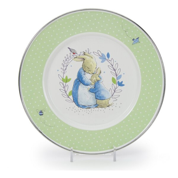 Sewell Polka Dot 8.5 Salad Plate (Set of 4) by August Grove