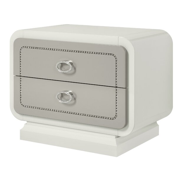 Torkelson 2 Drawer Nightstand by Rosdorf Park