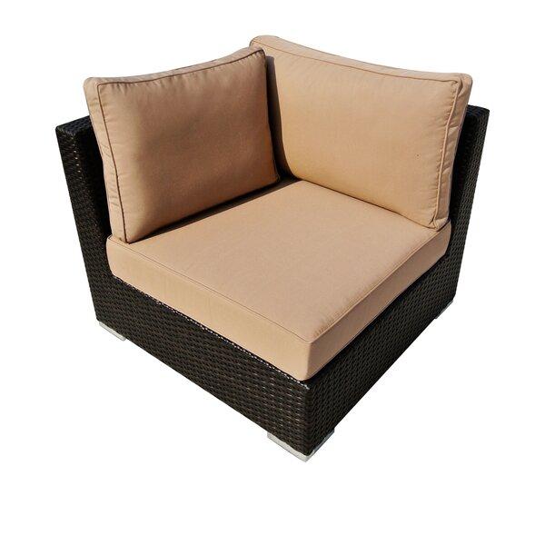 Manheim Patio Chair with Sunbrella Cushions by Ebern Designs Ebern Designs