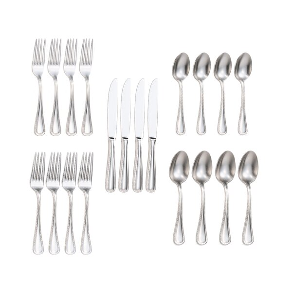 Ryals 20-Piece Flatware Set by Charlton Home