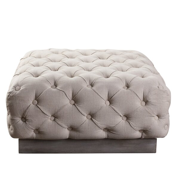 Hughley Cocktail Ottoman by Darby Home Co