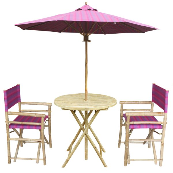 4 Piece Dining Set by ZEW Inc