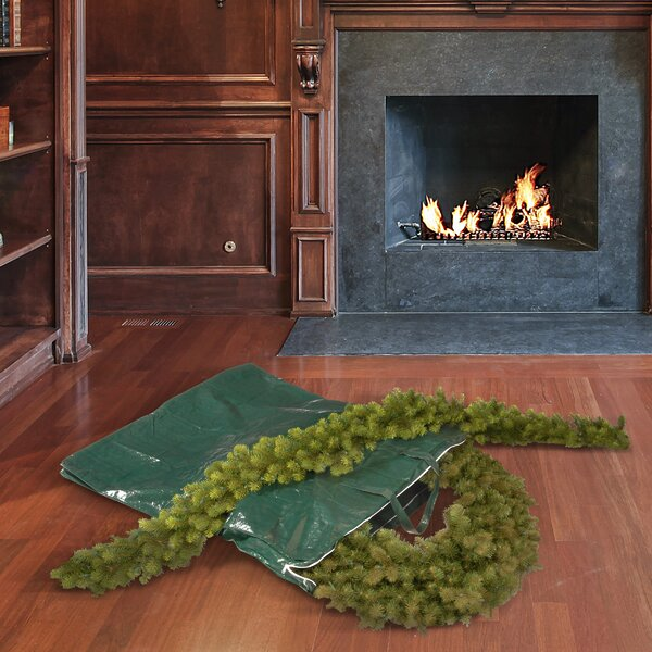 Heavy Duty Wreath and Garland Storage Bag by National Tree Co.