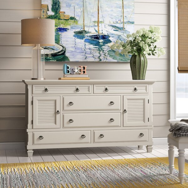 Torin 6 Drawer Combo Dresser by Beachcrest Home
