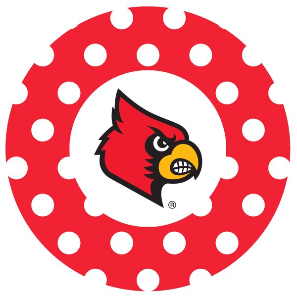 University of Louisville Dots Collegiate Coaster (Set of 4) by Thirstystone