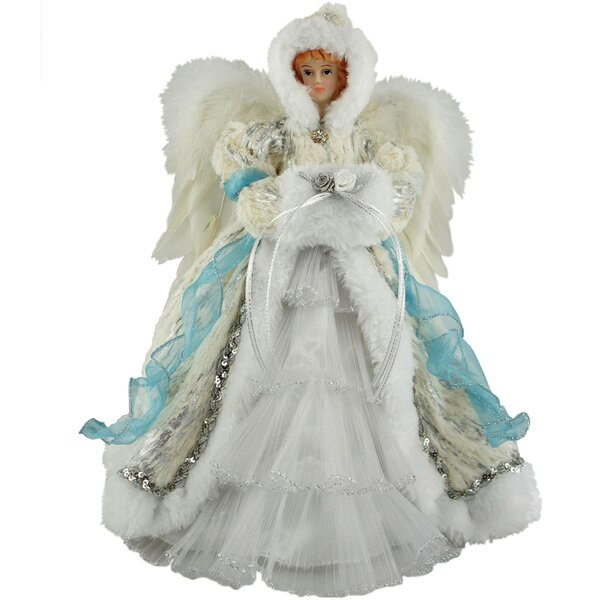12 Winter Angel Tree Topper by The Holiday Aisle