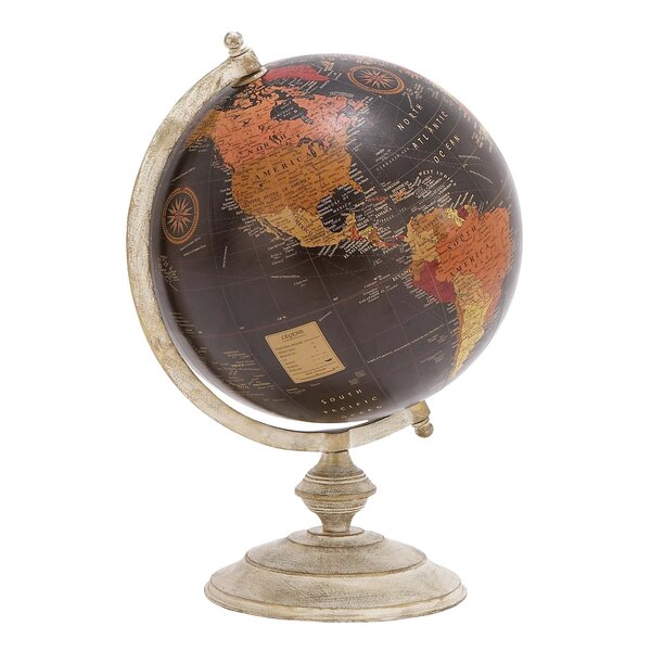 Metal Globe by Cole & Grey