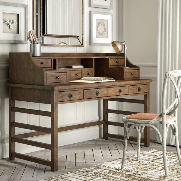 Arbyrd Leg Secretary Desk With Hutch by Greyleigh