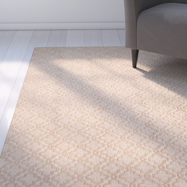 Bettie Hand-Tufted Beige Area Rug by Latitude Run