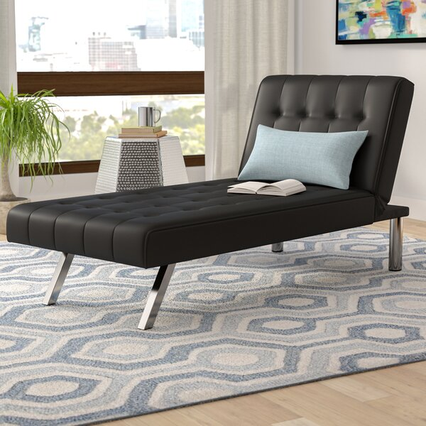 Metzger Convertible Chaise Lounge by Wade Logan