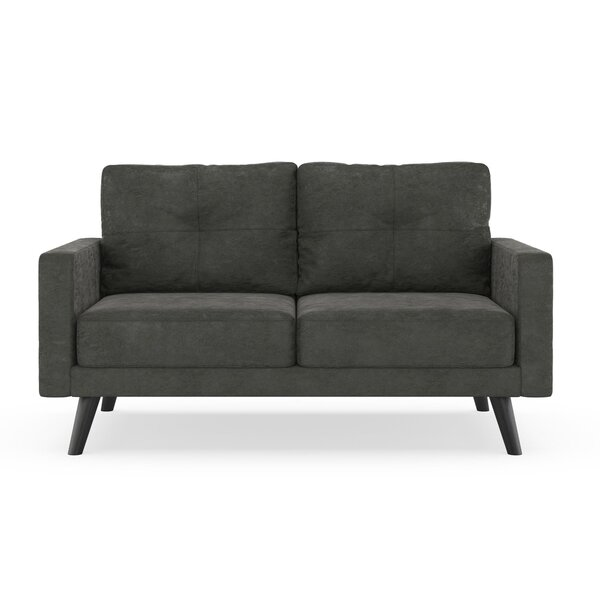 Shopping Web Courtney Microsuede Loveseat by Foundry Select by Foundry Select