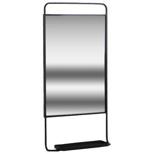 Orren Ellis Greco Metal Rectangular Accent Mirror