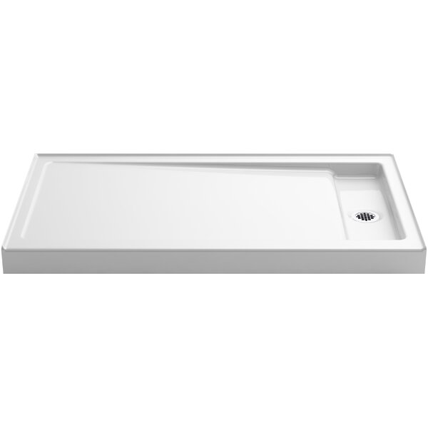 Bellwether 60 x 34 Single-Threshold Shower Base by Kohler