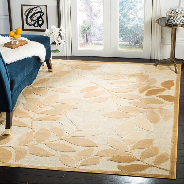 Martha Stewart Leafy Glade Heavy Cream Area Rug by Martha Stewart Rugs