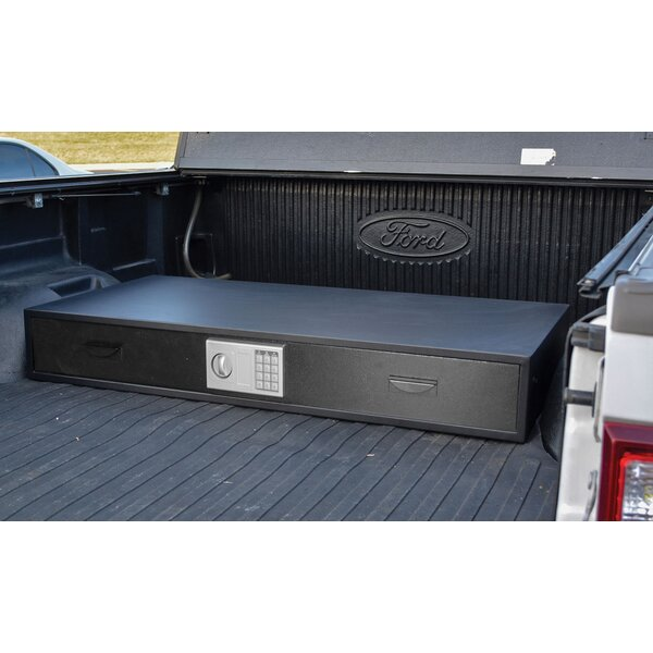 Steel Under Bed Gun Safe with Electronic Lock by Offex