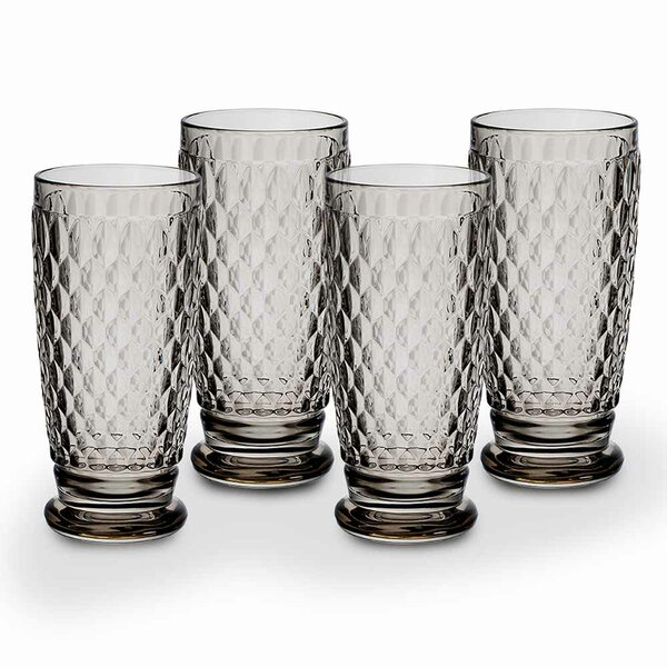 Boston 14 oz. Crystal Cocktail Glass (Set of 4) by Villeroy & Boch