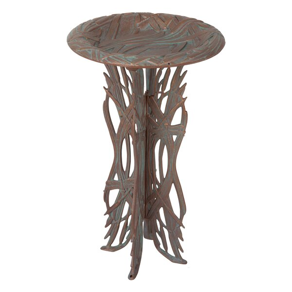 Dragonfly Birdbath by Whitehall Products
