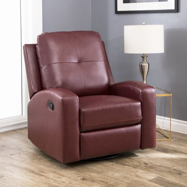 Sarewitz Manual Swivel Recliner by Red Barrel Studio