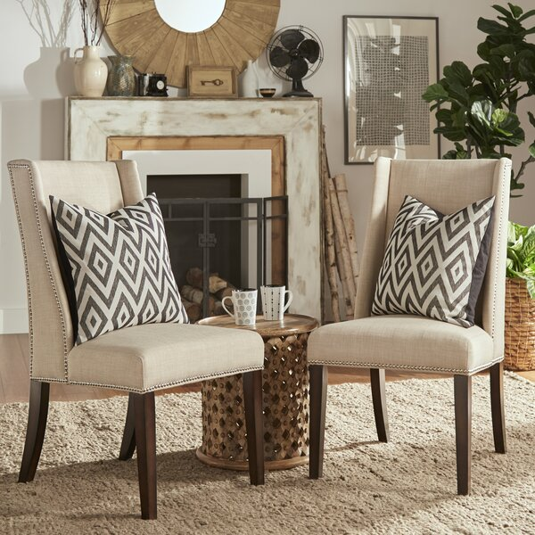 Chicago Parsons Chair (Set of 2) by Three Posts