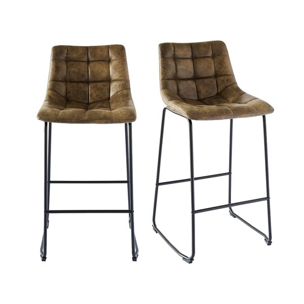 Greene 29 Bar Stool (Set of 2) by Williston Forge