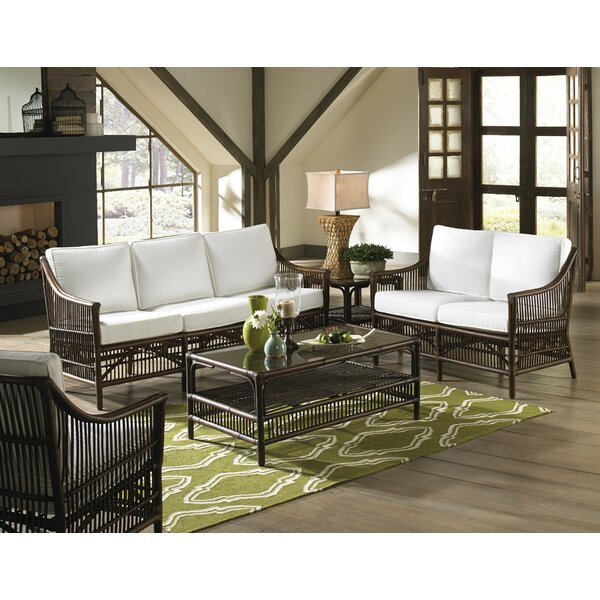 Bora Bora 5 Piece Conservatory Living Room Set by Panama Jack Sunroom