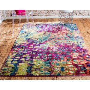 Massaoud Machine Woven Area Rug