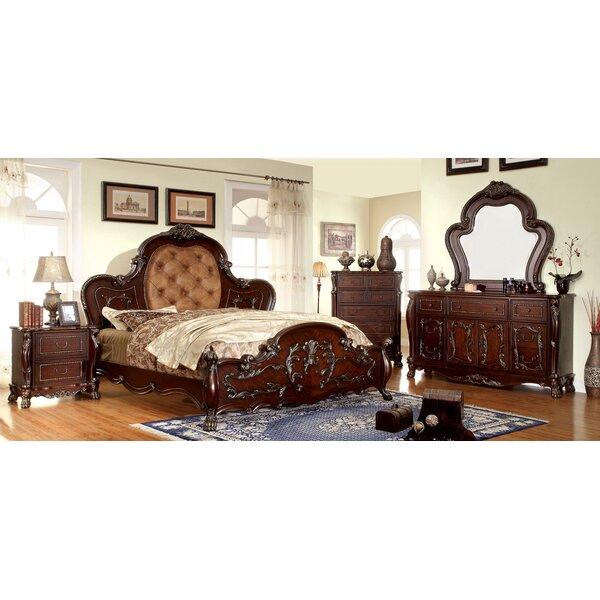 Lancaster Upholstered Standard Bed by Hokku Designs