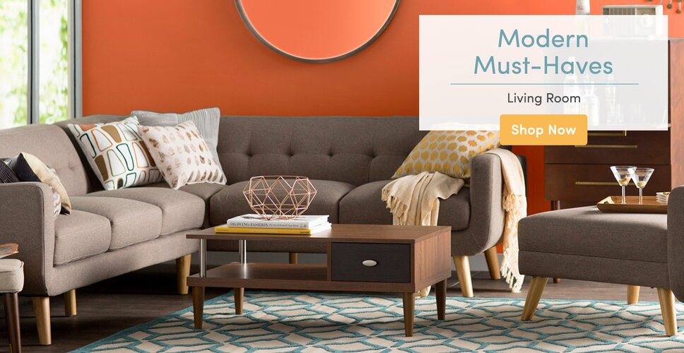 modern furniture & decor you'll love | wayfair