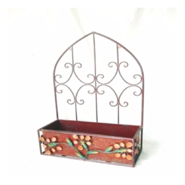 Corte Madera Metal Planter Box by Fleur De Lis Living