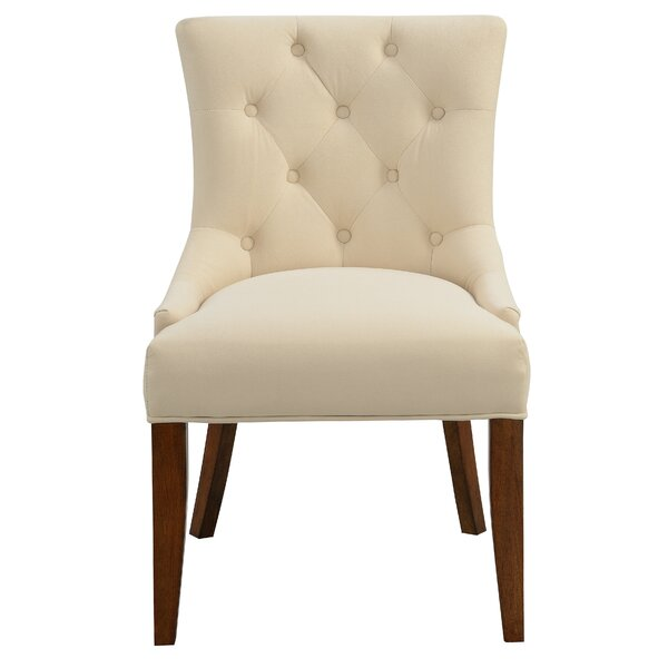 Check Prices Letitia Upholstered Parsons Chair by Alcott Hill