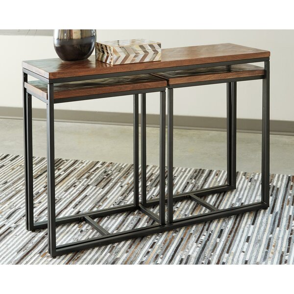Moncrief 3 Piece Console Table Set By Union Rustic